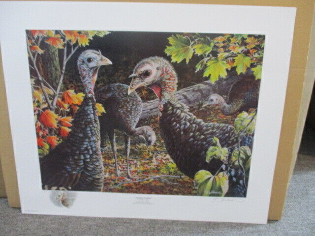 """Autumn Cluster"" 206/250 By George LaVanish Print"