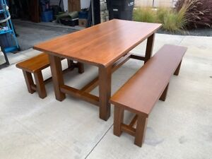 Pottery Barn Table & Bench Set