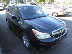 2014 Subaru Forester 2.5i accident free/camera/certified