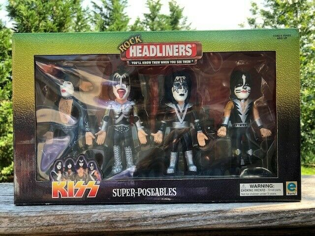 Kiss Headliners New in Box 2000