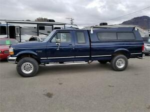 1993 FORD F250 SUPER CAB 4X4 LONG BOX 7.3 DIESEL 5 SPD STICK
