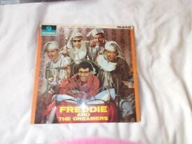 Vinyl LP Freddie And The Dreamers Columbia 33 SX 1577 Mono