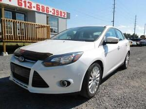 2012 FORD FOCUS TITANIUM *** WEEKLY AT $50.00 OAC ***