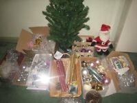 JOBLOT CHISTMAS DECORATIONS & CANDLES