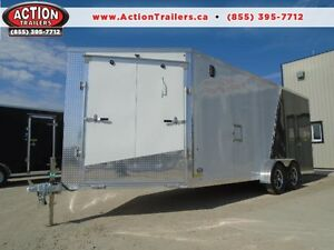 7X23 DRIVE IN/OUT DELUXE SNOWMOBILE TRAILER - PRE SEASON SPECIAL