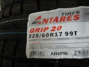 225/60 R17 ANTARES GRIP20 WINTER TIRES *BRAND NEW*