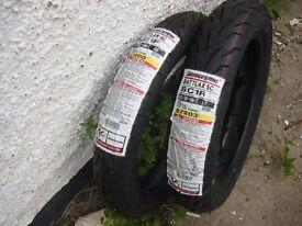 Honda PCX ,DYLAN , PES ,FES Brand new Bridgestone tyre