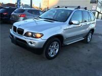 2006 BMW X5 3.0i,AUTO,A/C,AWD,LEATHER AND PANORAMIC ROOF,SAFET