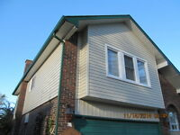 Cobourg Siding Seamless Eavestrough Fascia Soffit Capping Stone
