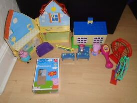Peppa Pig bundle toys 35 items in VGC-post it