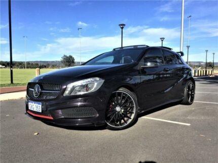 2013 Mercedes-Benz A250 176 Sport Northern Lights Violet 7 Speed Automatic Hatchback