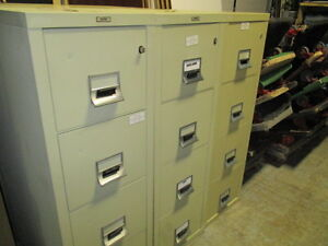 4 Drawer Vertical FireProof File Cabinets