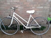vintage 1970s ladies bicycle for sale spares repairs