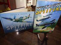 SPITFIRE AIROPLANE BOOKS