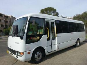 2007 Mitsubishi Fuso Rosa BE649 Base Bus 3.9l RWD Homebush West Strathfield Area Preview