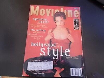 Sigourney Weaver  Tori Spelling  Vince Vaughn   Movieline Magazine 1997