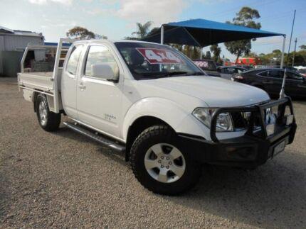2010 Nissan Navara White Manual Cab Chassis Hastings Mornington Peninsula Preview