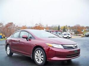 SUPER DEAL! 2012 Honda Civic Sdn LX - 69$ BI WEEKLY OAC!!!