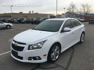 2012 Chevrolet Cruze LTZ Bluetooth Leather Bose Sunroof Remote S