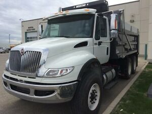2015 International 7400 6x4, Used Gravel Truck