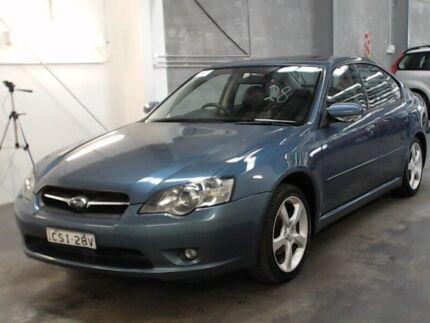 2004 Subaru Liberty MY04 2.5I Premium Blue 4 Speed Auto Elec Sportshift Sedan Beresfield Newcastle Area Preview