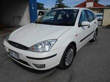 2004 Ford Focus LR CL White 4 Speed Automatic Hatchback Christies Beach Morphett Vale Area Preview