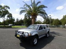 2003 Nissan Navara D22 MY2003 ST-R Silver 5 Speed Manual Utility Cabramatta Fairfield Area Preview