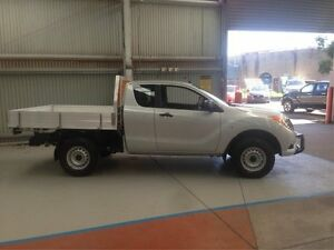 2015 Mazda BT-50 UP0YF1 XT 4x2 Hi-Rider Silver 6 Speed Manual Utility Maryville Newcastle Area Preview