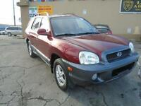 2004 Hyundai Santa Fe GLS AWD *  LOADED * Leather * Sunroof *