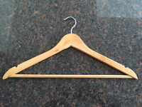 Clothes Hangers, Wooden - Lots of them available - Perfect for nice Closet Wardrobe Armoir