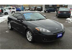 2008 HYUNDAI TIBURON GS w/SPORT PKG *** LOADED *** SUNROOF ***