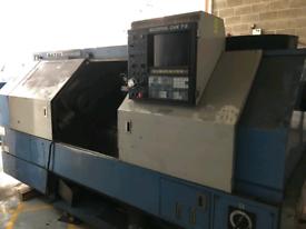 Mazak Quick Turn 20N CNC Lathe with chip conveyor