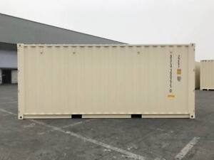 20' New/One Trip Shipping Containers - Double Door (PG)