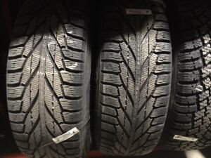 Nokian  Hakkapellita Winter tires on Rims