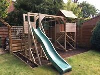 Wooden Garden Playset For Sale