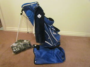 Toronto Maple Leafs  Junior Carry Golf Bag and Accessories