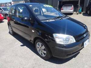 2004 Hyundai Getz Manual Hatchback Wangara Wanneroo Area Preview