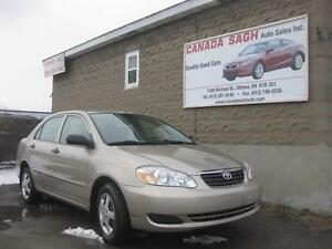 2007 Toyota Corolla AUTO, CLEAN UNIT ! 12M.WRTY+SAFETY