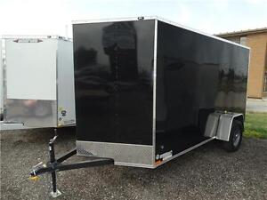 6x12 Enclosed Cargo Trailer with ramp