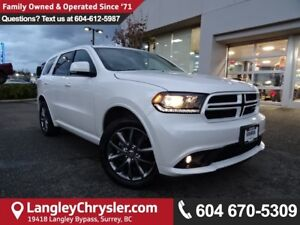 2017 Dodge Durango GT *ACCIDENT FREE*ONE OWNER*LOCAL BC CAR*