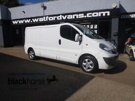 2014 Vauxhall Vivaro 2,9t Sportive 2.0CDTi 115ps LWB A/C E/Pack Diesel white Man