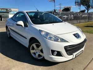 2010 Peugeot 207 A7 Series II MY10 CC White Sports Automatic Cabriolet Mulgrave Hawkesbury Area Preview