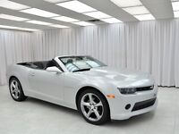 2014 Chevrolet Camaro RS CONVERTIBLE COUPE w/ LEATHER