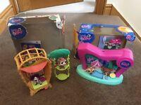 2 sets of Littlest Pet Shop