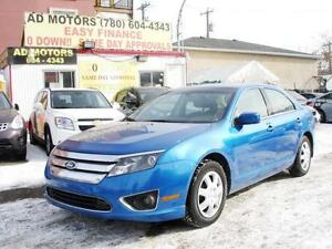 2012 FORD FUSION SEL LEATHER SUNROOF AUTO 86K 100% FINANCING!!