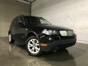 2009 BMW X3 30i AWD/CUIR/TOIT PANO/CRUISE/BLUETH/BANC CHAUFFANT