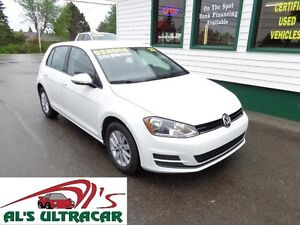 2017 Volkswagen Golf TSI for only $151 bi-weekly all in!