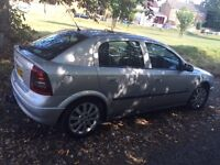 2004 VAUXHALL ASTRA SXI VERY GOOD CONDITION DRIVES PERFECT 80000 MILES NO FAULTS MOT TILL DECEMBER