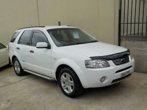 2005 Ford Territory GHIA White Automatic Wagon Lansvale Liverpool Area Preview