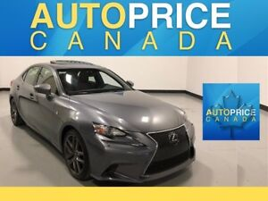 2014 Lexus IS 250 F-SPRT|NAVIGATION|REAR CAM|LEATHER